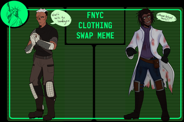 [COLLAB] Fallout: NYC Clothes Swap Meme by NukaKid