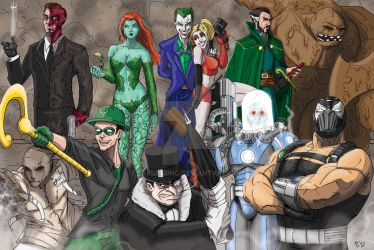 Gotham City Rogues by darlinginc