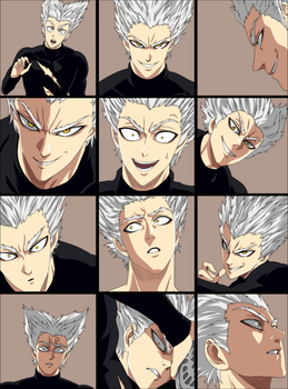 [OPM] Garou. Color by sherlleen