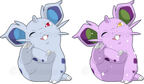 +029 - Nidoran+ by Cachomon