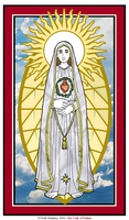 Our Lady of Fatima by NowitzkiTramonto