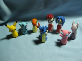 Wobbles: Pokemon Group by okapirose