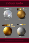 Material Practice (low resolution) by TheLuciferArt