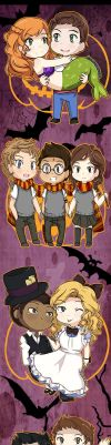 TW: Halloween Ships by liloloveyou024