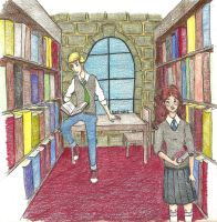 The Library by AdeL7e