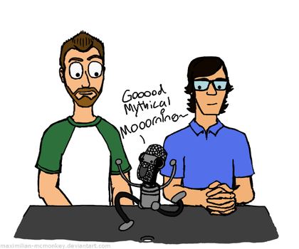 Good Mythical Morning with Rhett and Link by Maximilian-McMonkey