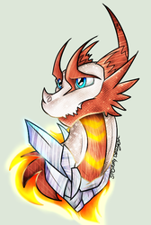 Fire and Ice|AT by Stormy-The-Dragon