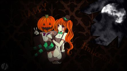 Happy Halloween - Anime Wallpaper by Siimeo
