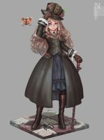 gotic steampunkV1 by narukkod