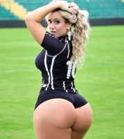Soccer Girl With a Big Booty by kingofmiamicity1985