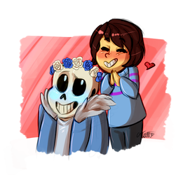 Happy Skelly by LogicalLoony