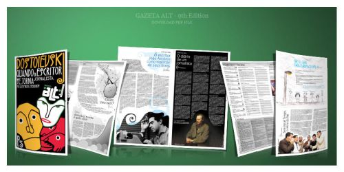Gazeta ALT - 9th Edition by hiharry