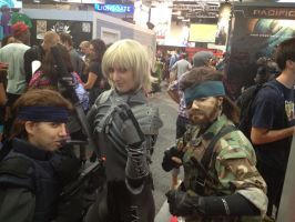 SDCC2012 - Heros of MGS 1, 2, and 3 by SnowBunnyStudios