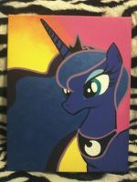 My Little Pony - Luna by mz-kitty