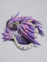 Dragon mauve by krisclay74
