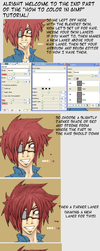 How to Color in GIMP Pt.2 by sasukechan111