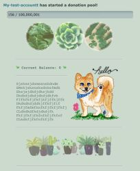Doggos and Plants Pointbox/Donation Pool Code by My-test-accountt