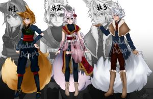 CLOSED ADOPTABLES - Auction 7 by Anadia-Adopts