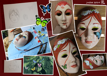 Masque Papillon by PumpkinLili
