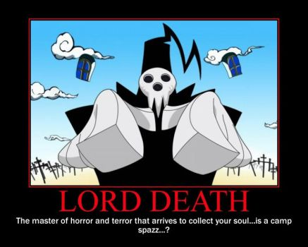 LORD DEATH by NinjaPrincess1000
