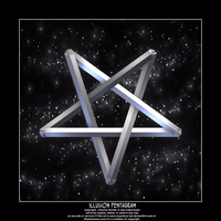 illusion pentagram by fraterchaos