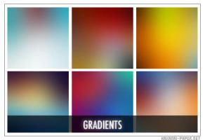 Gradient Icon Textures by animepapers