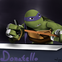 Donatello by LilachSigal