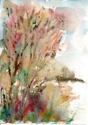Abstract watercolour by paralel