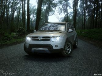 Dacia Duster Tuning 4 - Lights by cipriany