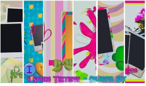 6 Spring Textures by bettdesigns