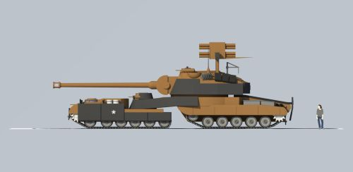 AstronSH tank E2 4 by Giganaut