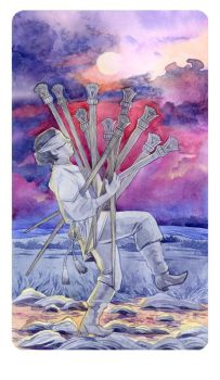 Ten of Wands by Losenko
