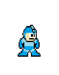 Megaman by NopeToster