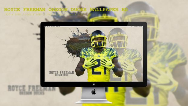 Royce Freeman Oregon Ducks Wallpaper HD by BeAware8
