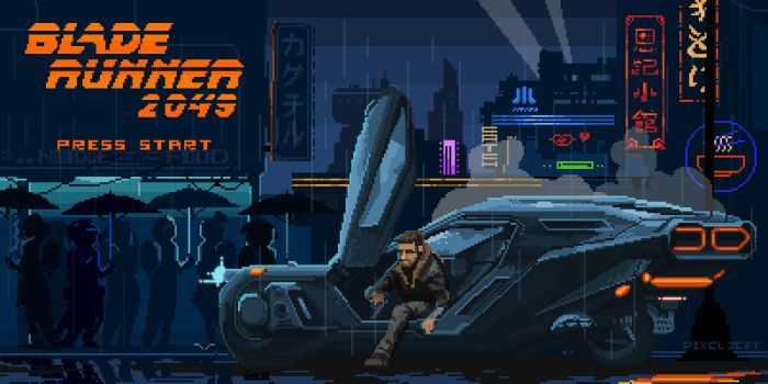 Blade Runner 2049 : The Game by pixeljeff1995