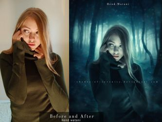 Never gone before and after by Hend-Watani