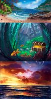 landscapes by lepyoshka