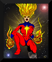 The Birth of Captain Marvel by Lpsalsaman