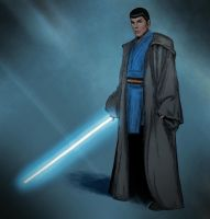 Spock the jedi by Stuukstly