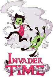 Invader Time by Re-DEE-Mer