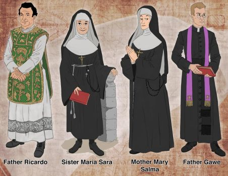 Catholic Characters Concepts by MasterDoodleJoe80062