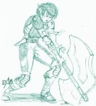 08-01-05 elf boy inkpen sketch by dmario