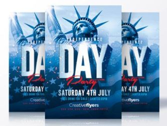 Independence day flyer by RomeCreation