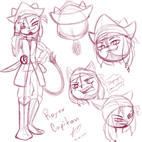 Royer the pirate by NagaWOLF16