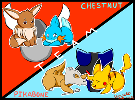 Redraw: Pokemon Mystery Dungeon Teams by Dinri