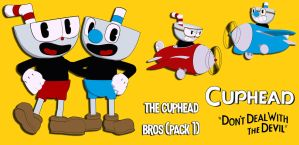 Cuphead PACK 1: Cupbros Edition FOR XPS by ASideOfChidori