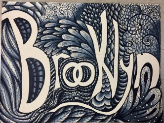 Name Zentangle - Art Class by Anatthema