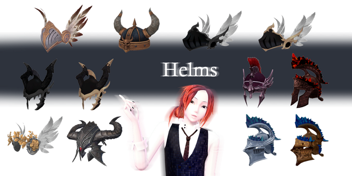 [MMD] Helms - DL by JoanAgnes
