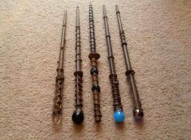 My Wands by casio1241