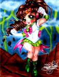 Sailor Jupiter by selene-nightmare69